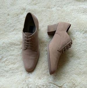 "Laura Scott ""Heelarious"" shoes."